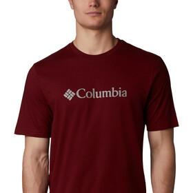 Columbia CSC Basic Logo T-shirt à manches courtes Homme, red jasper